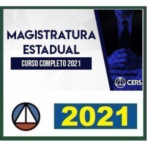 Magistratura Estadual e Ministério Público Estadual (CERS 2021) Juiz Estadual e Promotor Estadual