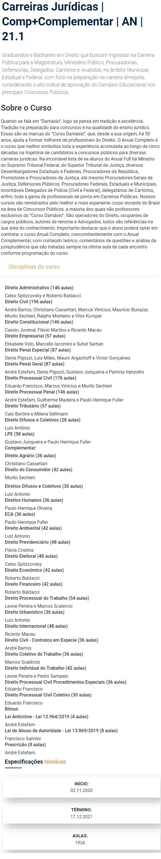 https://www.rateioconcurso.com/wp-content/uploads/2021/01/04-Carreiras-Jurídicas-Completo-Anual-Complementares-DAMÁSIO-2021.jpg