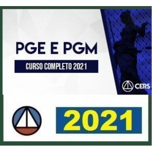 PGE e PGM Procurador Estadual e Municipal (CERS 2021)