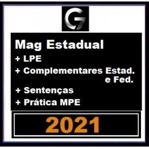 G7 Jurídico – SUPER COMBO Magistratura Estadual e MP + Legislação Penal Especial + Complementares Est. e Fed + Sentenças + Prática MPE (G7 2021)